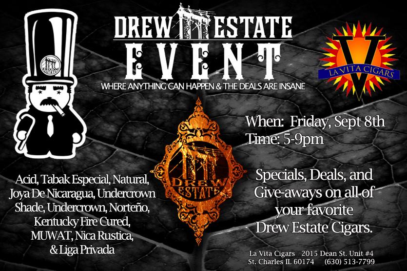 It's a Drew Estate Extravaganza!