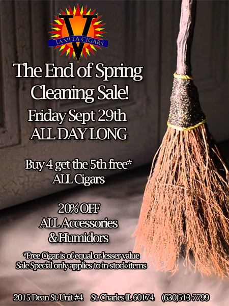 End of Spring Cleaning Sale