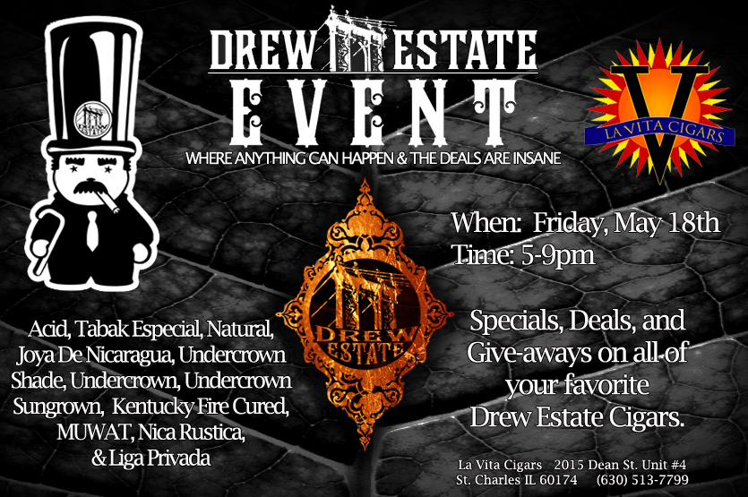 Drew Estates Cigar Party