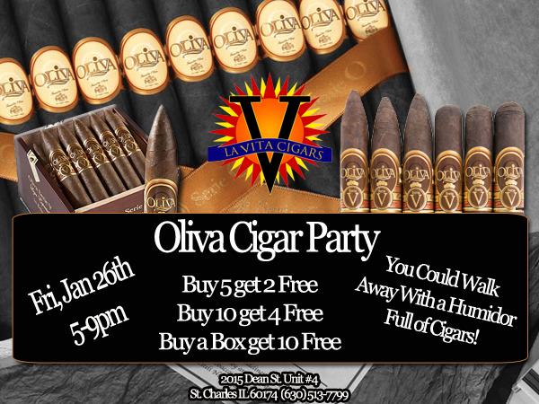 Oliva Cigars Year Kick Off Party